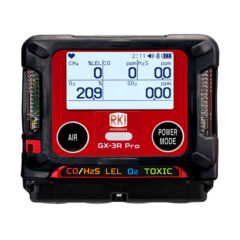 Gx3R Pro-five gas monitor-portable multi-gas-1
