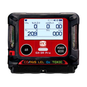 Gx3R Pro-five gas monitor-portable multi-gas-1