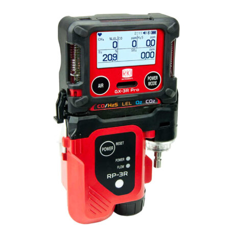 Gx3R Pro-five gas monitor-portable multi-gas-2