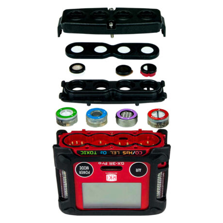 Gx3R Pro-five gas monitor-portable multi-gas-4