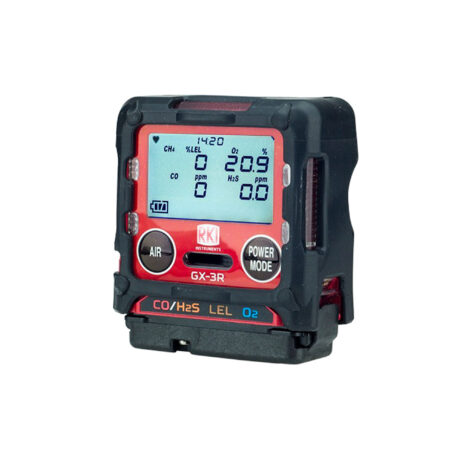 Gx3R-four gas monitor-portable multi-gas-5