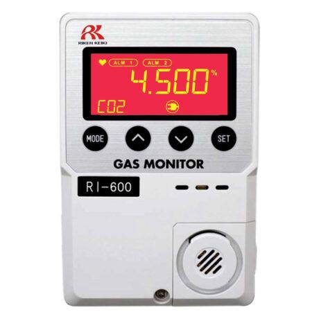 RI-600 CO2 Gas Monitor – red